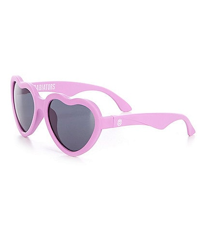 Babiators Baby Girls Newborn-24 Months Heart Sunglasses