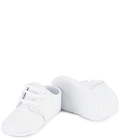 Baby Deer Saddle Oxford Crib Shoes Infant