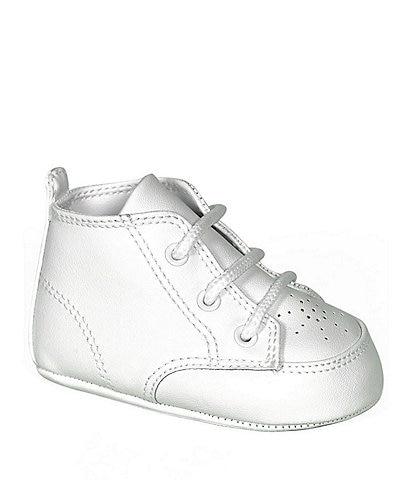8bd824bba490 Baby Deer White High-Top Crib Shoes