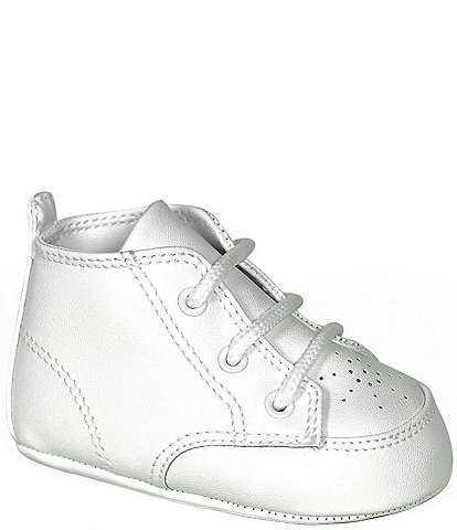 Baby Deer Infants' White High-Top Crib Shoes Infant