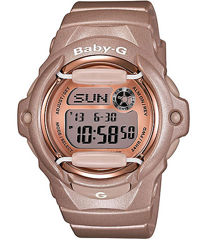 Baby-G Pink Champagne Series Bronze Ladies Watch