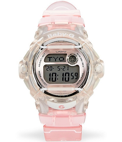 Baby-G Pink Jelly Ana Digital Watch