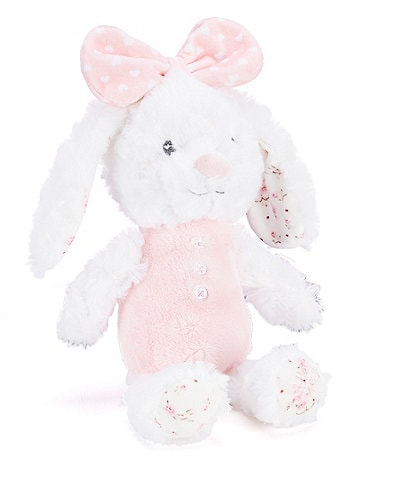 Baby Starters Baby Girls 11#double; Floral Huggable Rabbit Plush