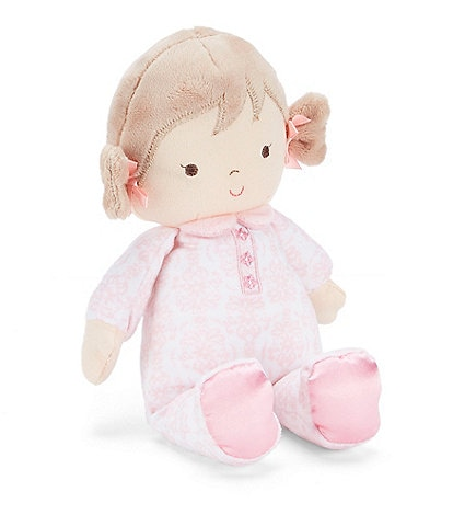 Little Me Baby Girls Brigitte Damask Doll