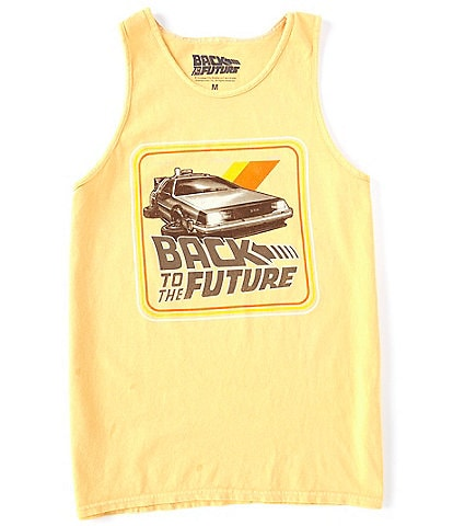 Back To The Future Retro Delorean Graphic Tank