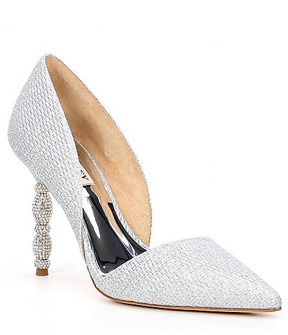 Badgley Mischka Emily Crystal Embellished d'Orsay Pumps
