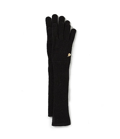 Badgley Mischka Ladies' Shine Long Knit Gloves