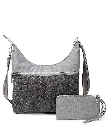 Baggallini Anti-Theft Large Hobo Colorblock Bag