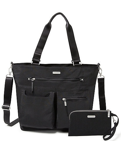 Baggallini Any Day Tote Bag with RFID Wristlet