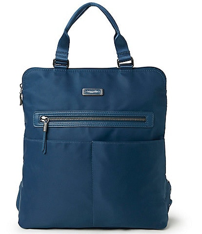 Baggallini City Lights Collection Jessica Convertible Tote Backpack