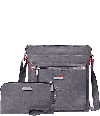 Baggallini Go Bagg with Removable RFID Wristlet