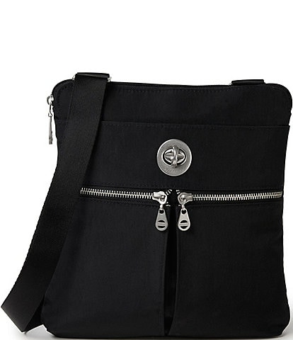 Baggallini Madras RFID Water Resistant Crossbody Bag
