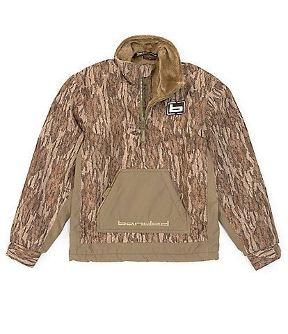 Banded Big Boys 8-20 Camo Chesapeake Quarter-Zip Jacket