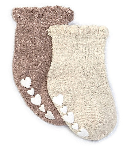 Barefoot Dreams Baby Girls 3-18 Months Cozy Chic Ultra Lite Ruffle Socks Pack