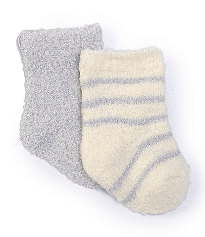 Barefoot Dreams Baby Newborn-6 Months CozyChic Socks 2-Pack