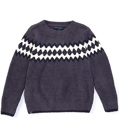 Barefoot Dreams Boys 6-14 Nordic Pullover Sweater