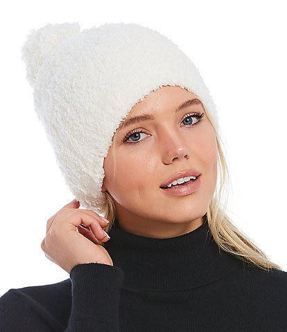 Barefoot Dreams Cozy Chic Collection Pom Pom Beanie