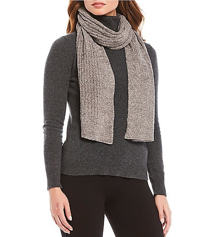 Barefoot Dreams Cozy Chic Lite Collection Ribbed Scarf