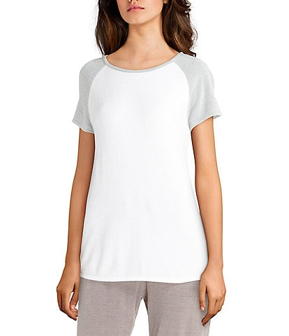 Barefoot Dreams Cozy Chic Ultra Lite Raglan Tee