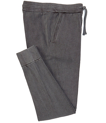Barefoot Dreams Drawstring Waist Sunbleached Knit Jogger Pants