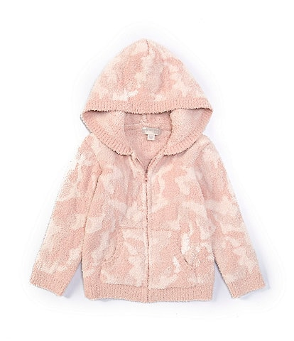 Barefoot Dreams Little Girls 2-5 CozyChic Camo Hoodie