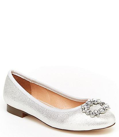 BCBGirls Girls' Sabana Jewel Brooch Flats (Youth)
