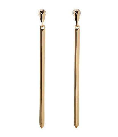 BCBG Linear Bar Earring
