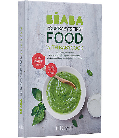 BEABA Your Baby's First Food with Babycook® Cook Book