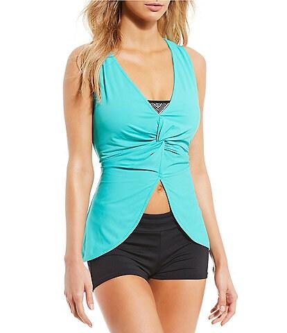 Beach House Vitality 2-Piece Convertible Tankini Swimsuit Top & Slim Fit Swim Short