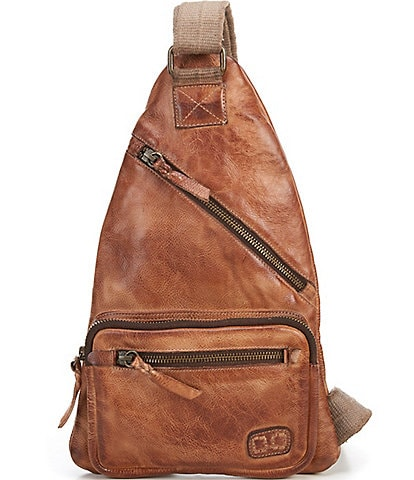 Bed Stu Andie Tanned Leather Sling Backpack