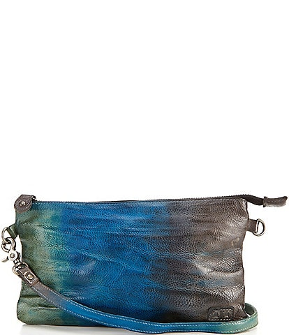 Bed Stu Arena Tie Dye Leather Crossbody Bag