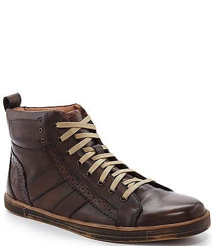 Bed Stu Men's Brentwood Vintage Perforated High-Top Sneakers