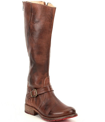 Bed Stu Glaye Buckle Detail Strap Equestrian Riding Boots
