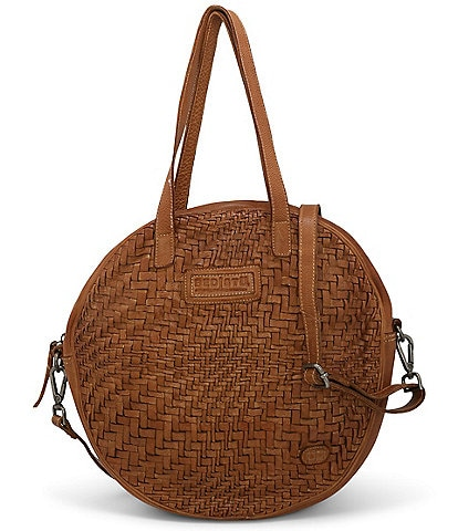 Bed Stu Gretchen Woven Circle Crossbody Shoulder Bag