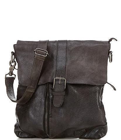 Bed Stu Jack Distressed Leather Crossbody Bag