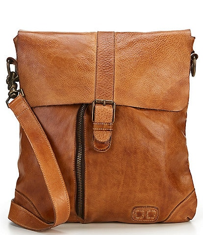 Bed Stu Jack Distressed Leather Crossbody Bag
