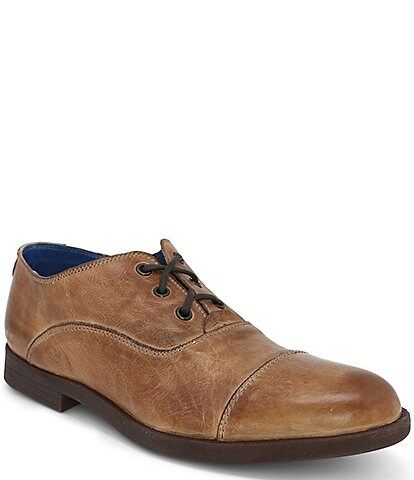 Bed Stu Men's Donatello Leather Cap Toe Oxford