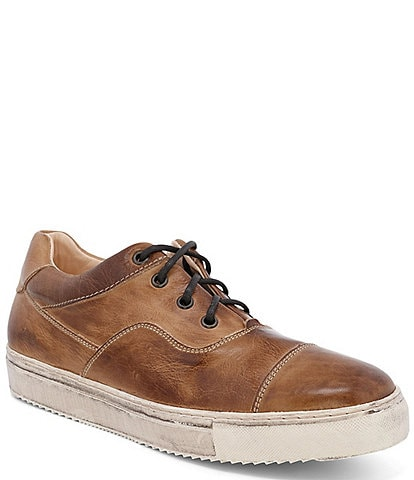 Bed Stu Men's Holmes Leather Distressed Sole Sneaker