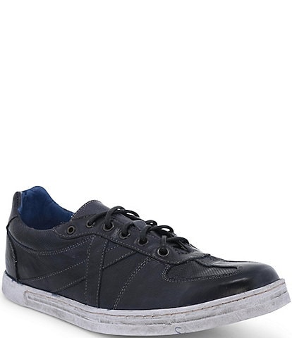 Bed Stu Men's Muller Leather Distressed Sole Lace-Up Sneaker