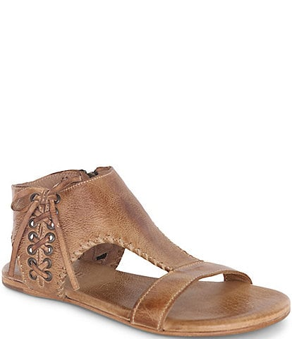 Bed Stu Nina Handwoven Leather Flat Sandals
