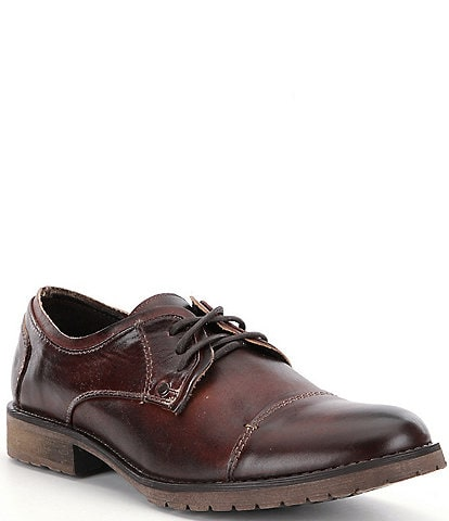 Bed Stu Men's Repeal Contrast Stitch Cap-Toe Oxfords