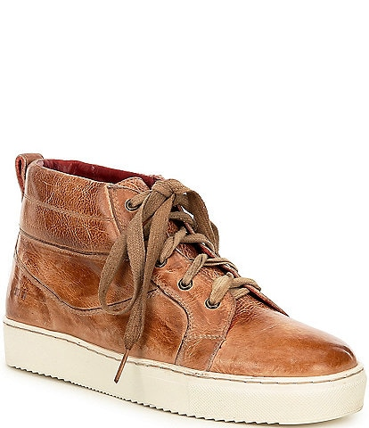Bed Stu Rosella Leather Hightop Lace-Up Sneakers