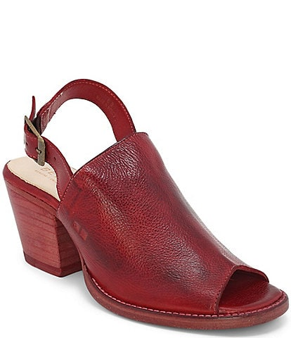 Bed Stu Sierra Leather Sling Mules