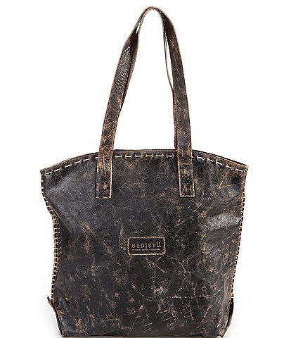 Bed Stu Skye II Distressed Leather Tote Bag