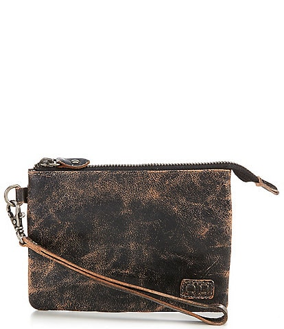 Bed Stu Stadium Leather Wristlet