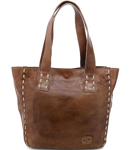 Bed Stu Stevie Leather Pick Stitch Tote Bag