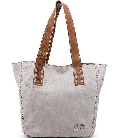 Bed Stu Stevie Leather Pick Stitch Tote Bag
