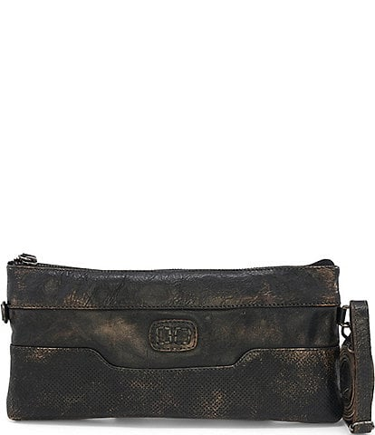 Bed Stu Taylorsville Leather Zip Wristlet