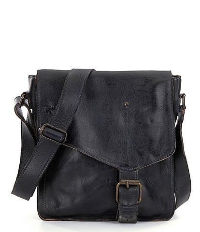 6841fc9b9de Bed Stu Venice Beach Buckle Weathered Leather Crossbody