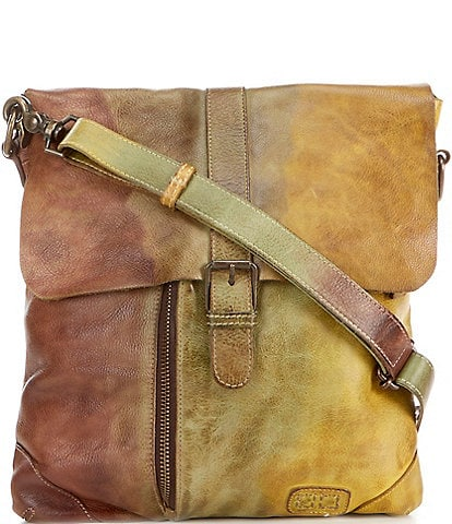 Bed Stu Woodstock Collection Jack Distressed Leather Crossbody Bag